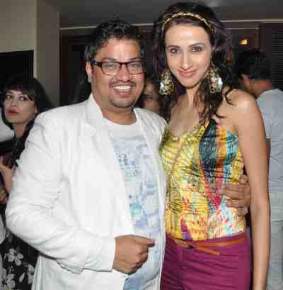 12. Shakir Shaikh with Alicia Raut