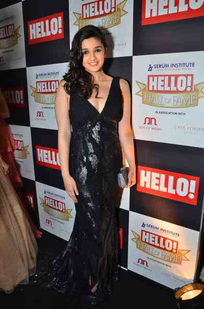 Alia Bhatt at The 'Hello! Hall of Fame Awards 2012'