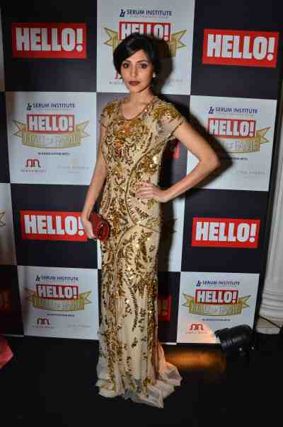 Anushka Sharma at The 'Hello! Hall of Fame Awards 2012'