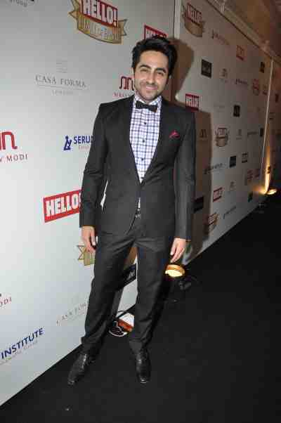 Ayushman Khurana at The 'Hello! Hall of Fame Awards 2012'