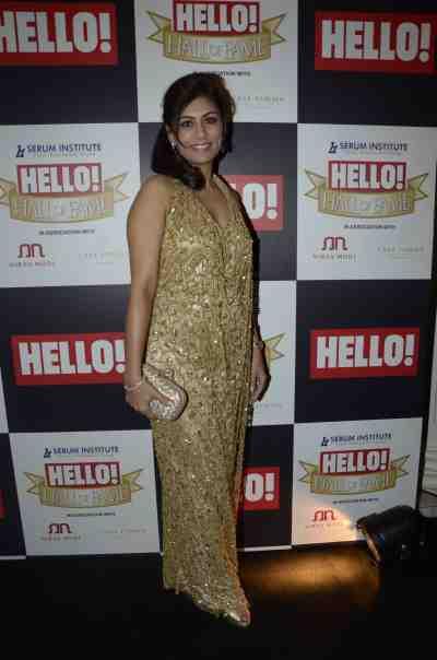 Deepika Gehani at The 'Hello! Hall of Fame Awards 2012'