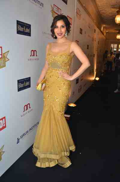Sophie Choudhary at The 'Hello! Hall of Fame Awards 2012'