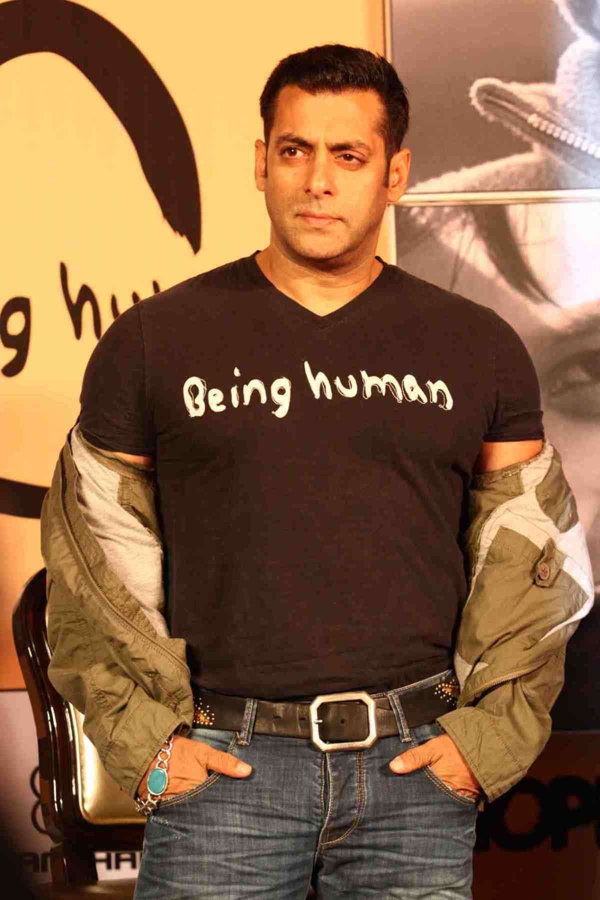 Salman Khan at the launch of Being Human flagship store