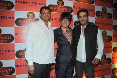 10. Aslam Shaikh, Rohhit Verma  with Ravi Kissen DSC_1538