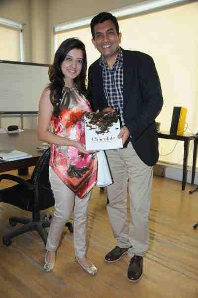 14. Amy Billimoria with Sanjeev Kapoor DSC_3988