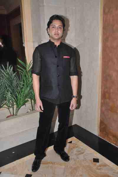 Designer Sameer Patel at Mahavir Mehta's anniversary bash..
