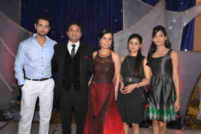 (L-R) Shakti Arora (Pavitra Rishta), Stockbroker Mahavir Mehta, Asha Mehta, Ruchi Savarn (Ghar Aaja Pardesi), Neha Saxena (Amita Ka Amit)