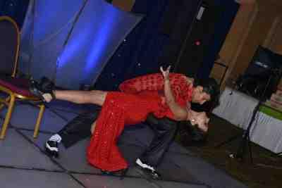 Latino Dance Duo Raunaque Sidana performed 'Tango Fire' with Jhulia Zamihra