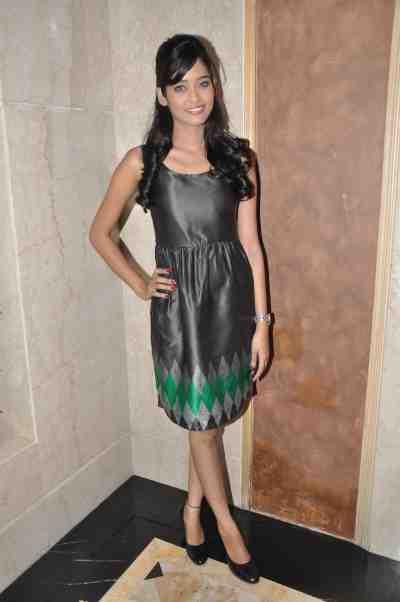 TV actor Neha Saxena (Amita Ka Amit) at Mahavir Mehta's anniversary bash.,.