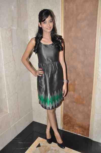 TV actor Neha Saxena (Amita Ka Amit) at Mahavir Mehta's anniversary bash..