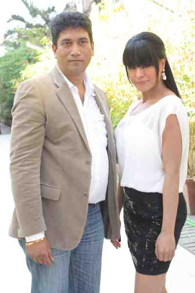 veena malik with satish reddy