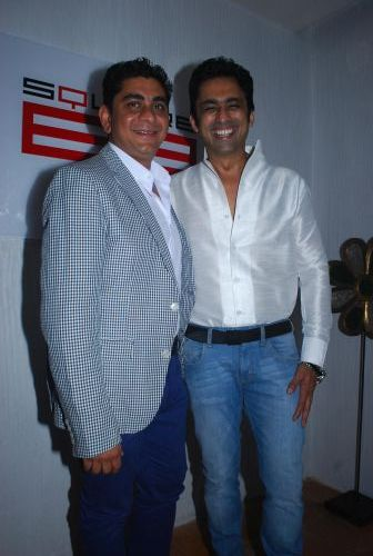 Producer Rajan Shahi and Anuj Saxena