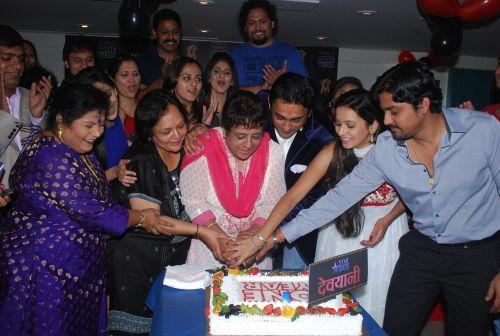 unit of Devyani-cutting Cake
