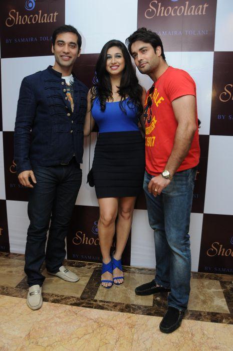 10. Kushal Punjabi with Vivian Dsena & Vahbiz Dorabjee DSC_6406