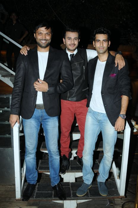 12. Anand Mishra, with Jay Soni and Sunny Arrora DSC_6584