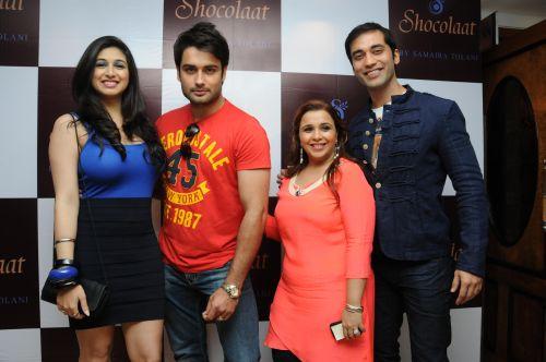 14. Adah Sharma, Dev Goel, Samaira Tolani and Kushal Punjabi DSC_6428