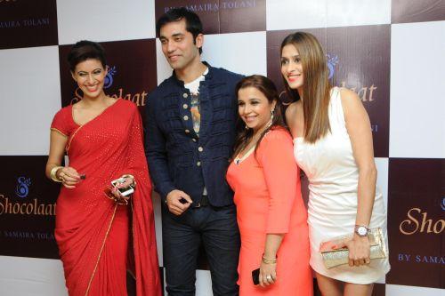 26. Ashita Dhawan, Kushal Punjabi, Samaira Tolani and Shilpa Agnihotri DSC_6045