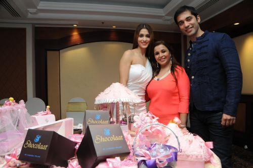 3. Kushal Punjabi with Samaira Tolani & Shilpa Agnihotri  DSC_6609