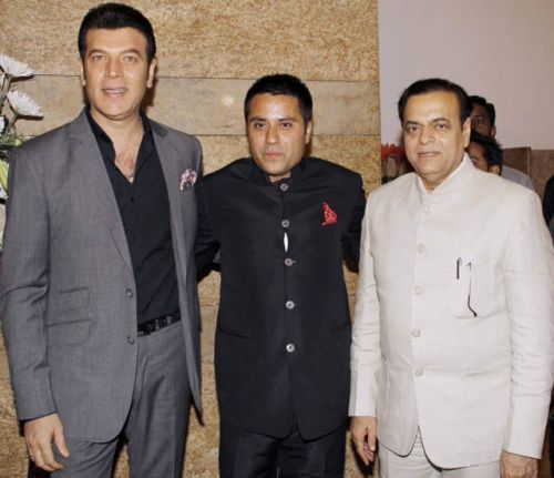 Aditya Pancholi, Waahiid Ali Khan & Abu Azmi at the launch of Jai Maharashtra News Channel at Grand Hyatt