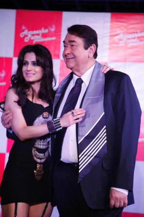 Ameesha & Randhir Kapoor