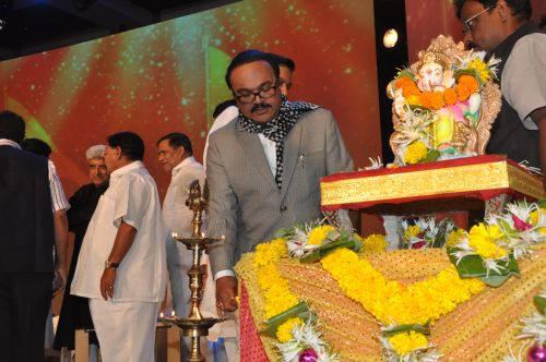 Chagan Bhujbal at the Launch of Jai Maharashtra News Channel at Grand Hyatt