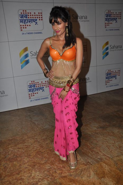 Chitrangadha Singh after the performance at the Launch of Jai Maharashtra News Channel at Grand Hyatt