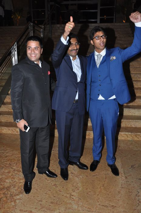 Directors of Jai Maharashtra Channel Waahiid Ali Khan, Sudhakar Shetty & Sohan Shetty
