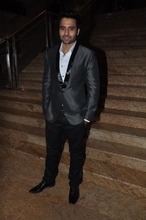Jackky Bhagnani at the Launch of Jai Maharashtra News Channel at Grand Hyatt