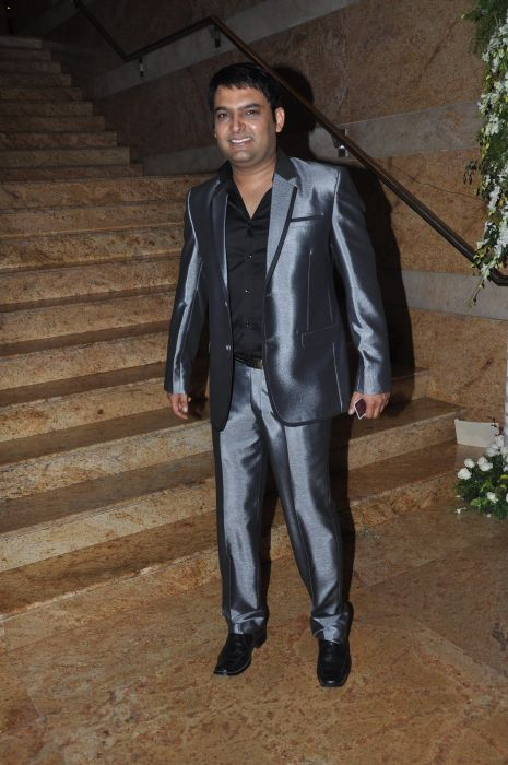 Kapil Sharma at the launch of Jai Maharashtra News Channel at Grand Hyatt