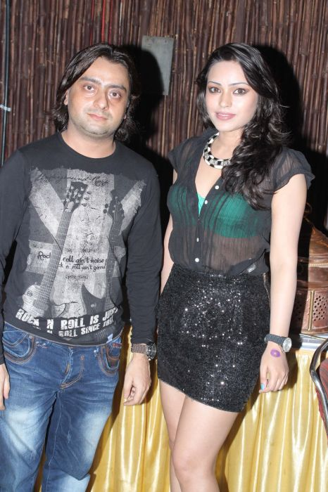 Music Director Vikram With Devshi Khanduri