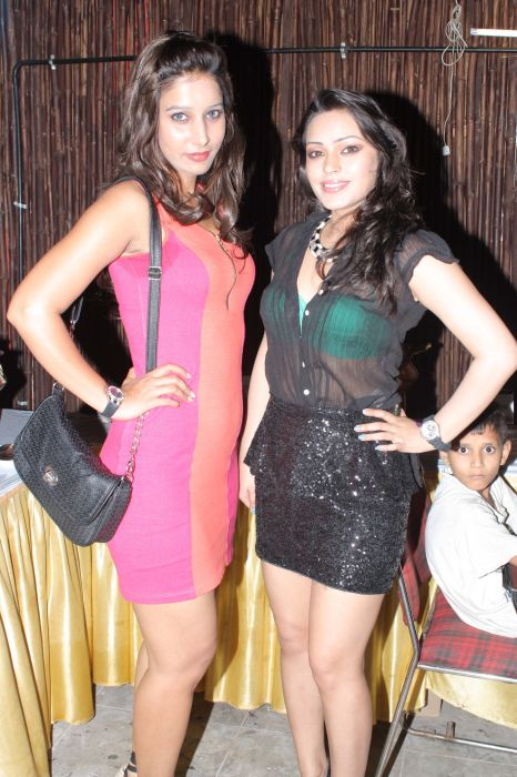 Nix Panwar With Devshi Khanduri