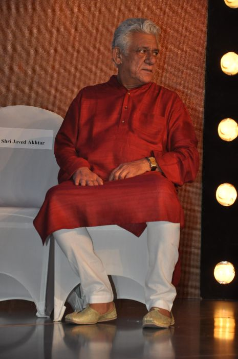 Om Puri at the launch of Jai Maharashtra News Channel at Grand Hyatt