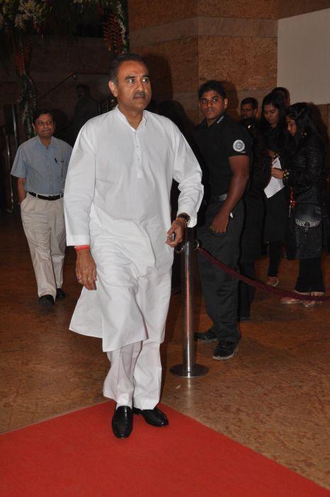 Praful Patel at the Launch of Jai Maharashtra News Channel at Grand Hyatt