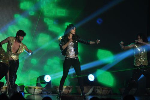 Priyanka Chopra Performing at the launch of Jai Maharashtra News Channel at Grand Hyatt