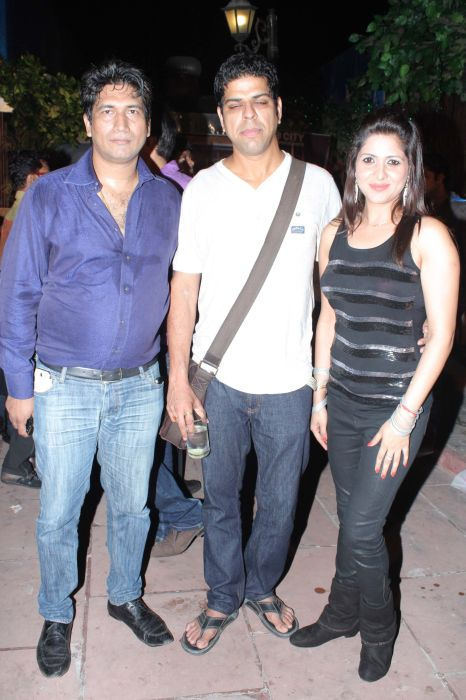 Producer Satish Reddy Murli Sharma With Jonita Dodo