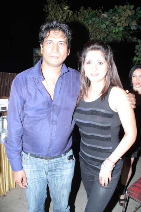 Producer Satish Reddy With Jonita Doda