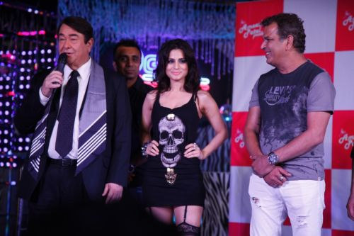 Randhir Kapoor, Ameesha & Raju Khan