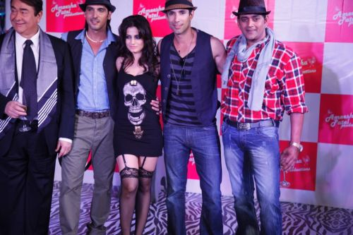Randhir Kapoor, Zayed, Ameesha, Sahil & Ravi Kishan