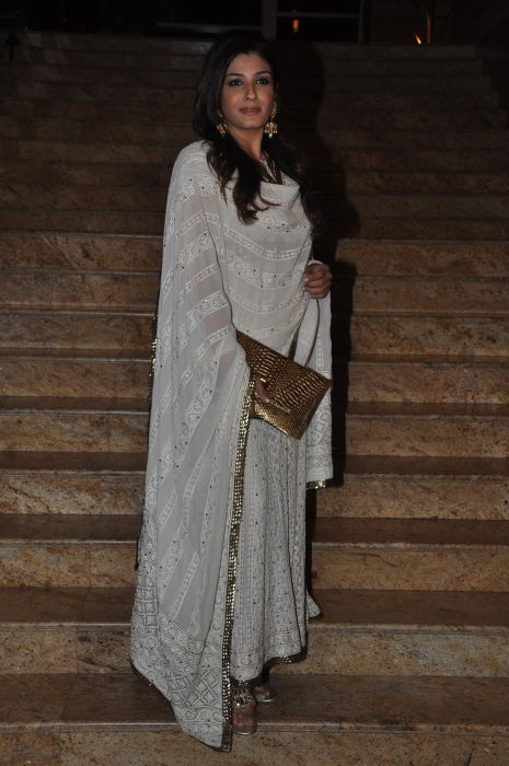 Raveena Tondon at the Launch of Jai Maharashtra News Channel at Grand Hyatt