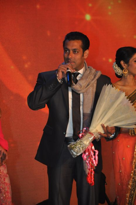 Salman Khan at the launch of Jai Maharashtra News Channel at Grand Hyatt .