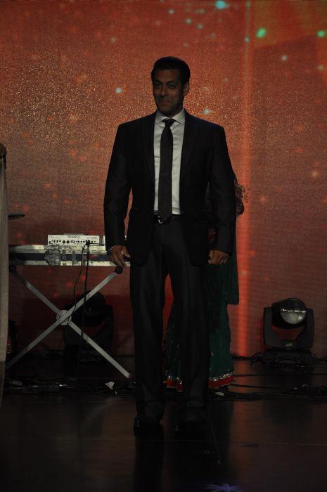 Salman Khan at the launch of Jai Maharashtra News Channel at Grand Hyatt