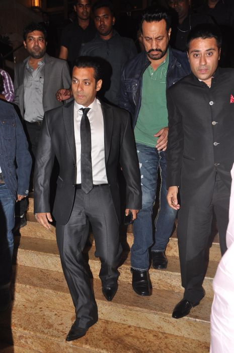 Salman Khan & Waahiid Ali Khan  at the Launch of Jai Maharashtra News Channel at Grand Hyatt