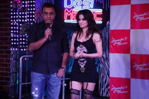 Sanjay Gadhavi with Ameesha Patel