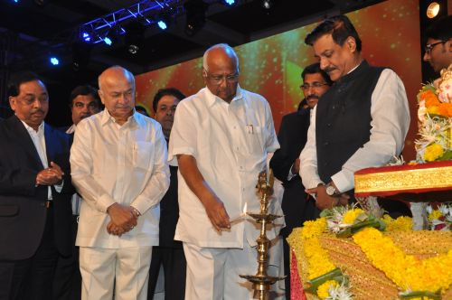 Sharad Pawar at the Launch of Jai Maharashtra News Channel at Grand Hyatt
