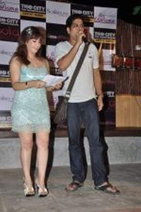 Vandana Vadera And Murli Sharma At The City That Never Sleeps Party