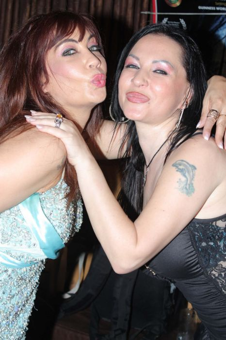 Vandana Vadhera And NAtaliya Kozhenova At The City That Never Sleeps Party