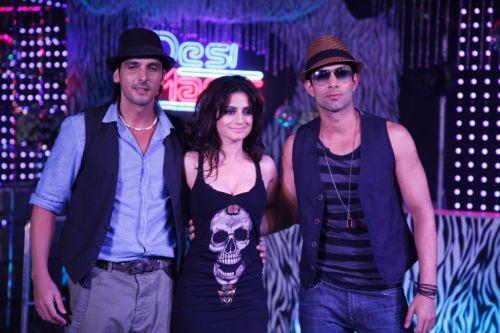 Zayed Khan, Ameesha Patel & Sahil Shroff
