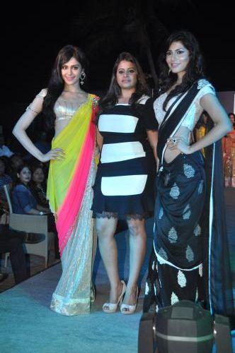 01- Adah Sharma & Vanya Mishra for  Zanaaya Couture by Designer Shouger Merchant Doshi@Sea Princess,Juhu
