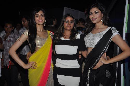 04-(L TO R)Adah Sharma & Vanya Mishra for  Zanaaya Couture by Designer Shouger Merchant Doshi@Sea Princess,Juhu