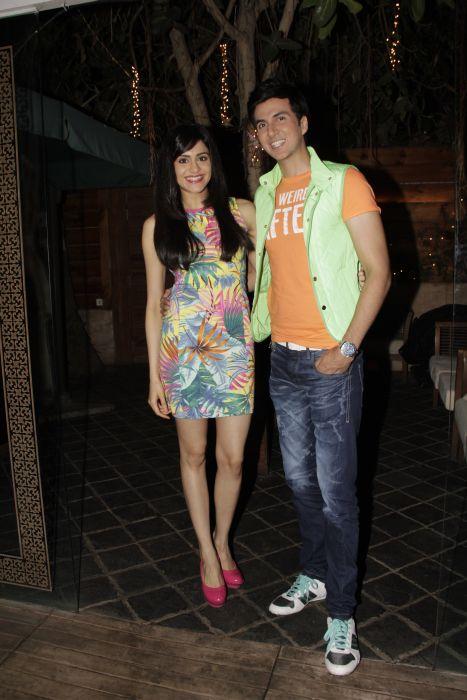1. Adah Sharma with Dev Goel  0937